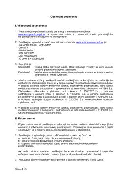 Stiahnúť obchodné podmienky v PDF formáte