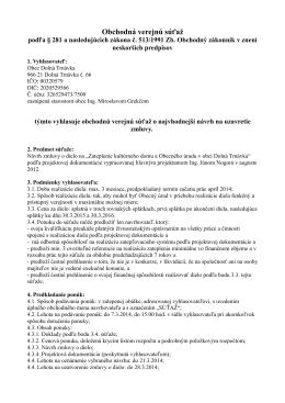 Zateplenie - Dolna Trnavka