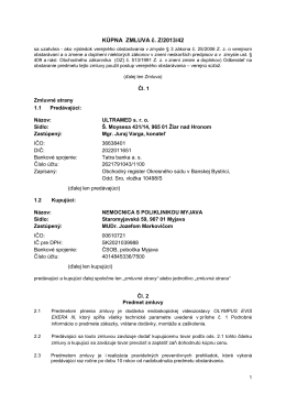 PDF text - Nemocnica s poliklinikou Myjava