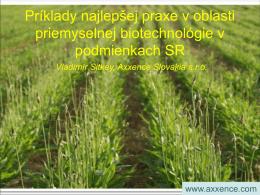 Príklady najlepšej praxe v oblasti priemyselnej biotechnológie v