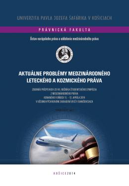 Aktuálne problémy medzinárodného leteckého a