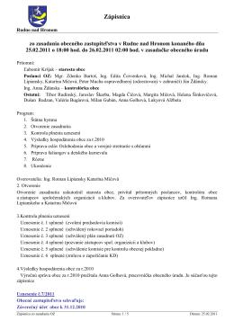 2011 02 25 - Rudno nad Hronom