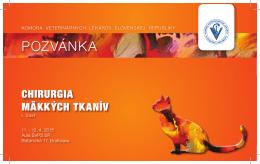 POZVÁNKA - Komora veterinárnych lekárov SR