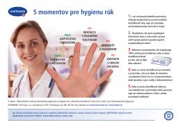 5 momentov pre hygienu rúk