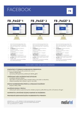 FACEBOOK - Mediatel