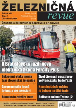V Bratislave už jazdí nová električka Škoda Forcity