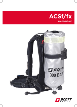 ACSf/fx - Scott Safety