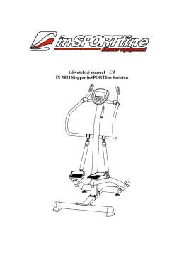 Uživatelský manuál – CZ IN 3882 Stepper inSPORTline Sceleton