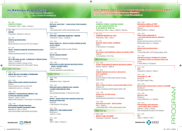 Program - Slovenská asociácia aterosklerózy