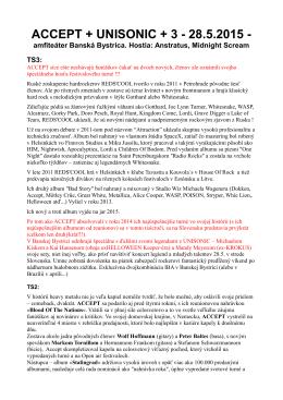 ACCEPT + UNISONIC + 3 - 28.5.2015 - amfiteáter