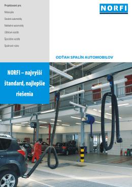 NORFI – najvyšší štandard, najlepšie riešenia