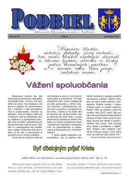 2012-4 - Obec Podbiel