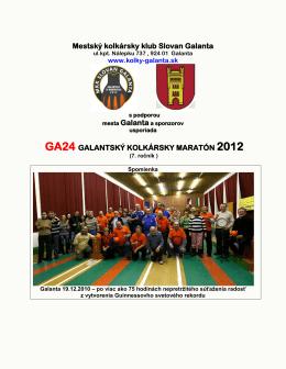 Mestský kolkársky klub Slovan Galanta