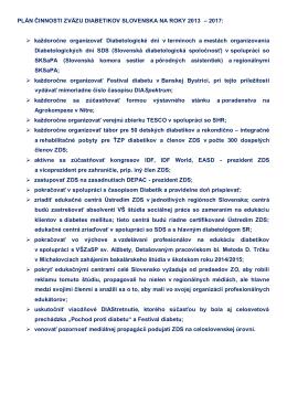 Plán činnosti ZDS na roky 2013 – 2017 (.pdf formát)