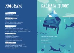 GALÉRIA HUDBY RAM - Nitrianska galéria