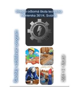 ŠkVP MUR - Stredná odborná škola technická vo Svidníku