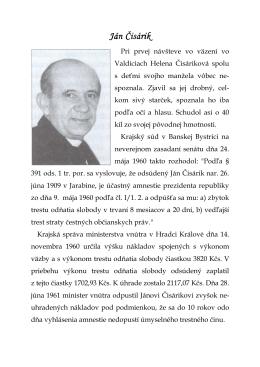 Ján Čisárik Ján Čisárik