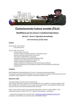 Česk koslove enská ľudov vá arm áda (Č ČSLA)