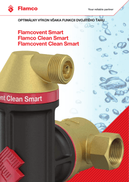 Flamcovent Smart Flamco Clean Smart Flamcovent
