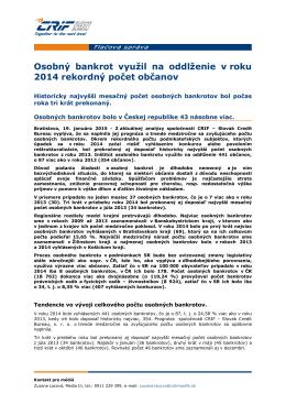 TS_CRIF_SK_Osobny bankrot vyuzil na oddlzenie v roku 2014