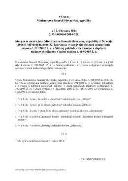 Finančný spravodajca 2/2014
