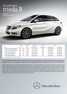 Novy cennik B 11-5-12.indd - Mercedes-Benz, ADIA