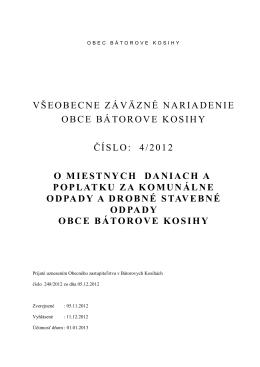 VZN - o miestnych daniach 2013 - konečný