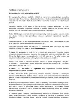 TLačová - Združenie historických miest a obcí SR