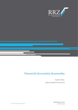 Potenciál slovenskej ekonomiky