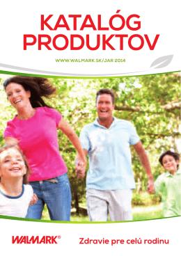 KATALÓG PRODUKTOV - Klub zdravia Walmark