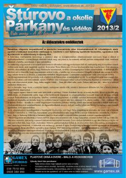 2013/02 - Mesto Štúrovo