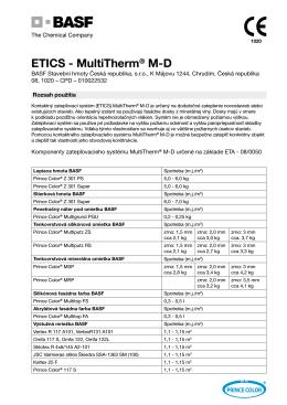 ETICS - MultiTherm® M-D