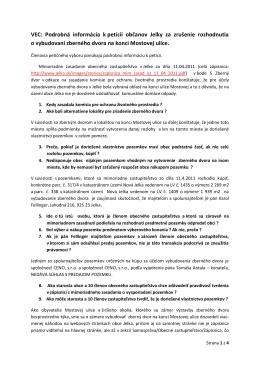 Podrobná informácia v PDF
