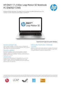 PSG Consumer 3C13 Notebook datasheet - HP