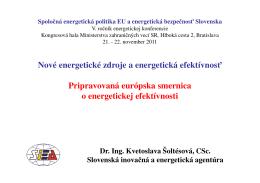 Prezentácia - Kvetoslava Šoltésová