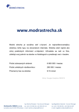 www.modrastrecha.sk