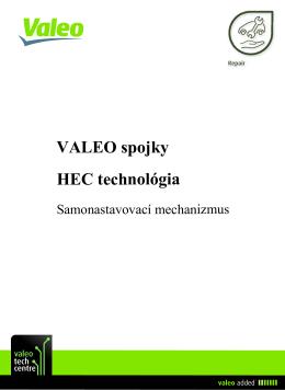 VALEO spojky HEC technológia