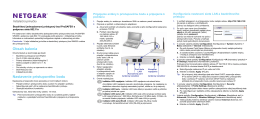 Obsah balenia Nastavenie prístupového bodu A B