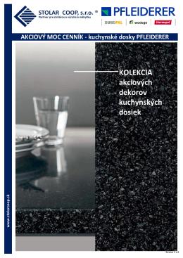 Akciový cenník kuchynské dosky 10.11.2014