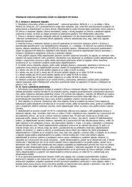 Všeobecné zmluvné podmienky účasti na zájazdoch CK