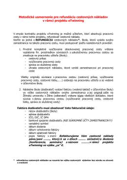 Refundácia cestovných nákladov pre učiteľov (*.pdf)