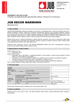JUB DECOR MARMORIN