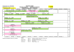 Študijný program: všeobecné lekárstvo Lekárska fakulta SZU v