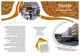 Stolár - Stredná odborná škola polytechnická