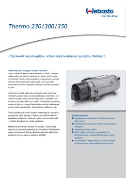 Katalógový list produktu Thermo 230/300/350 (PDF, 741