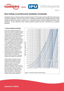 Diagnostika odvádzačov kondenzátu PDF