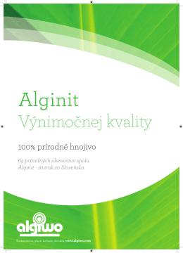 Brožúra od Algiwo