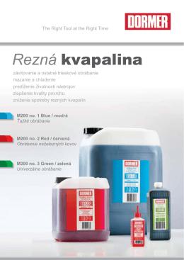 Dormer M200 no. 3 Green / zelená rezná kvapalina