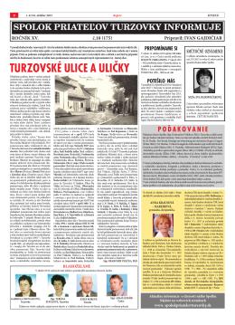č.10 - Spolok priateľov Turzovky