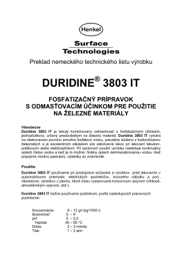 DURIDINE 3803 IT